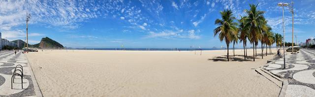 Extensao praia do Leme