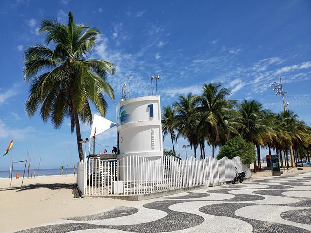 Praia do Leme posto 1
