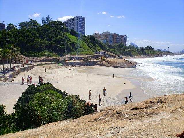 Praia do Diabo Ipanema Rio de Janeiro
