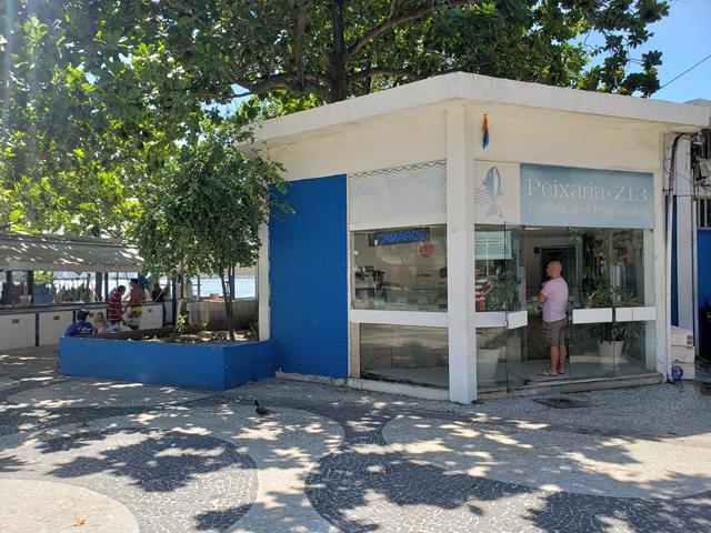 Colonia de pescadores de copacabana