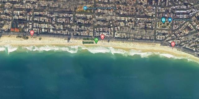 Extensao Praia Ipanema