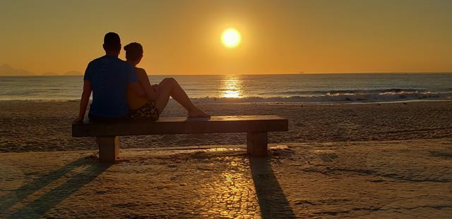 Nabser do Sol em Copacabana