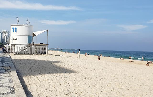 Praia do Leblon posto 11