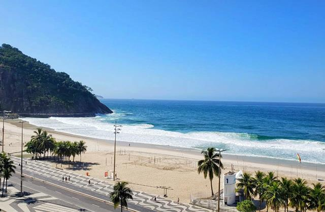 Praia do Leme Guia de Prais Carioca