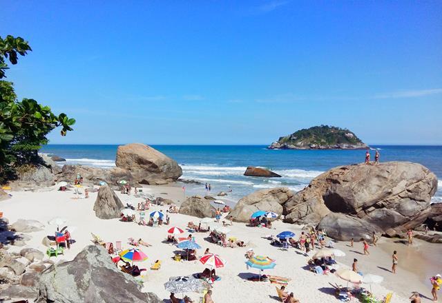 Praia de Abrico - Area aberta