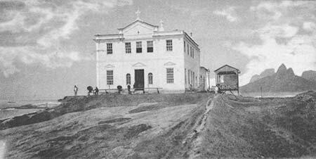 Igreja do forte de copacabana