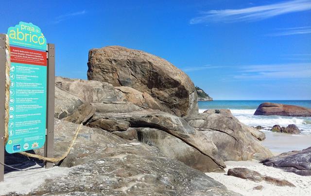 Regras da praia do Abricó
