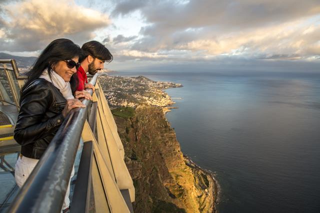 Mirante do Cabo Girao Ilha da Madeira