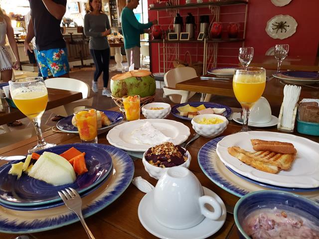 Café da manha Vila da Santa