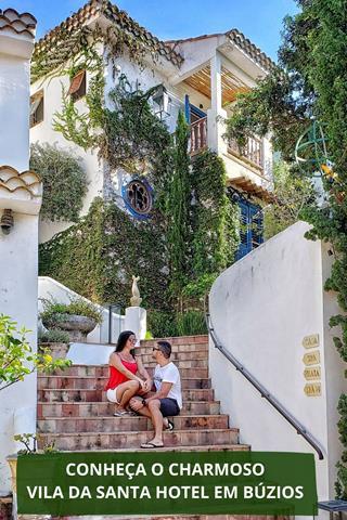 Hotel Vila da Santa salve no Pinterest