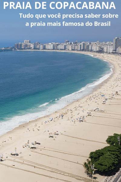 Praia de copacabana pinterest