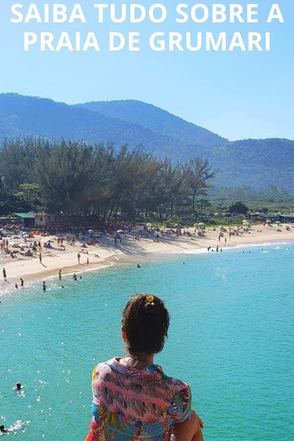 Praia de Grumari no pinterest