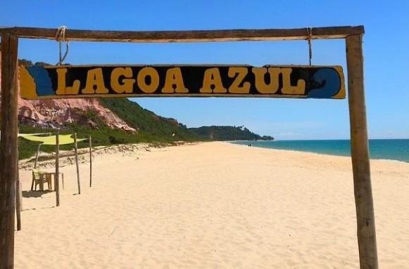 Praia da Lagoa Azul Arraial da Ajuda