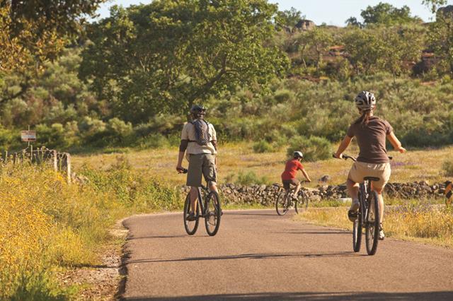 De bicicleta no Alentejo