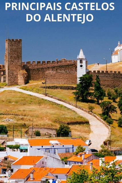 Conheca os principais castelos do Alentejo
