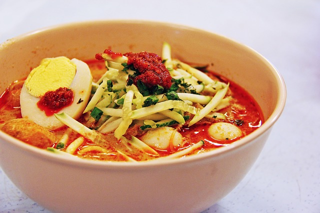 Laksa gastronomia da malasia
