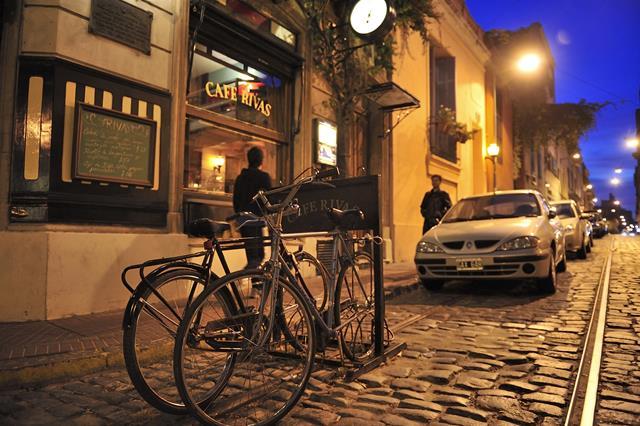 Café San Telmo bicicleta