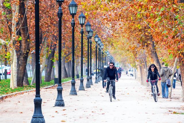 De Bike em Santiago