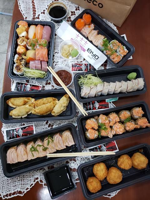 Eiyo Sushi delivery zona sul